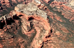 Aerial Photograph of Sedona Red Rock