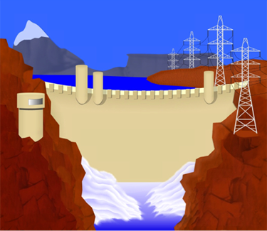 Hydroelectric Generating Dam