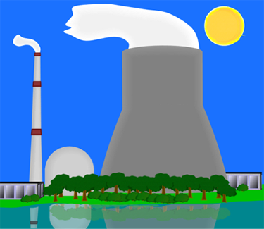 Nuclear Power Generating Plant
