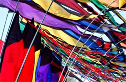 Banner Flags at Kite Festival in DC