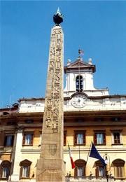 egyptian obelisk in rome