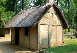 henricus settlement colonial house