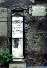via appia column