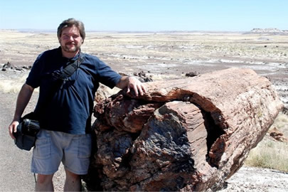Me at the Petrified Forest